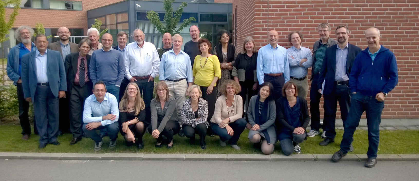 Participants at the founding meeting of EuroLics in Copenhagen, 12 September 2014